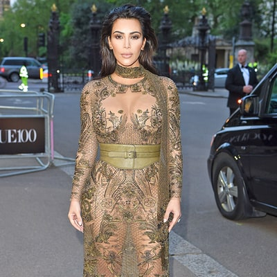 12 Times Kim Kardashian Showed Her Kurves in Shockingly Sheer Outfits