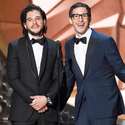 Kit Harington Proposes to Andy Samberg in Emmys 2016 Bit