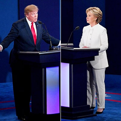 Hillary Clinton and Donald Trump Did Not Shake Hands Before Final Presidential Debate