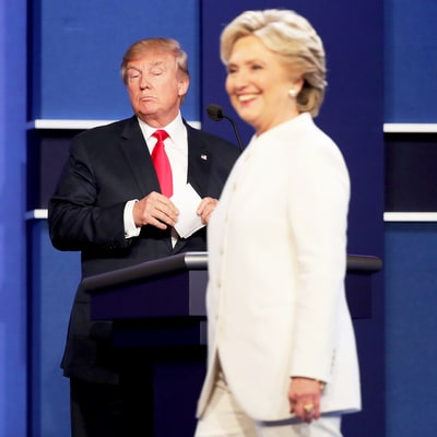 Donald Trump Calls Hillary Clinton a 'Nasty Woman' at Debate, Twitter Rages — See Clinton's Response