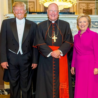 Cardinal Dolan: There Were 'Touching Moments' Between Clinton, Trump at the Alfred E. Smith Dinner
