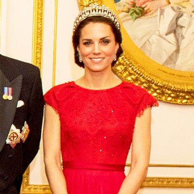 3 Red Dresses Inspired by Duchess Kate's Royal Portrait Gown