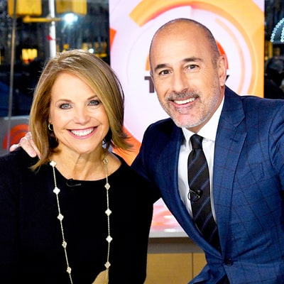 Matt Lauer: Katie Couric Is Sort of 'My Soul Mate'