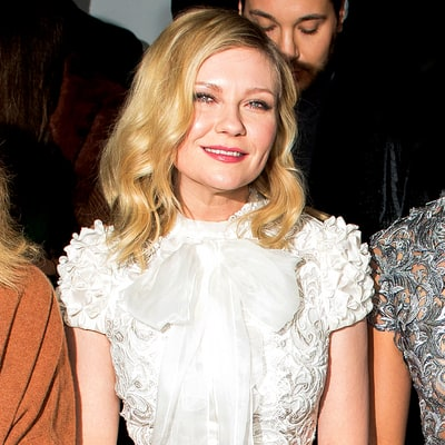 Kirsten Dunst Proudly Shows Off Her Engagement Ring From Jesse Plemons at Couture Week