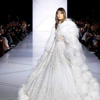 See All of Couture Week 2017's Dreamy (and Amazingly Over-the-Top) Wedding Dresses