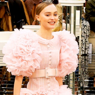 Lily-Rose Depp Shuts Down the Chanel Couture Show in a Disney-Worthy Bridal Gown
