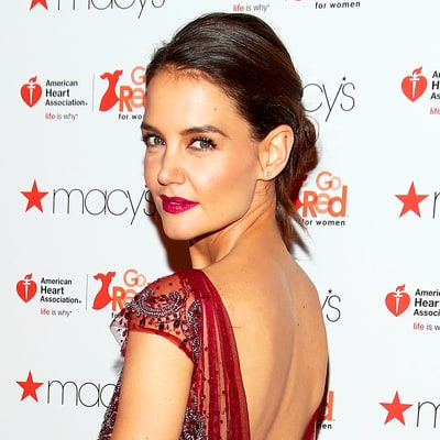 Katie Holmes Goes Total 'Downton Abbey' in Top-to-Bottom Fringed Dress