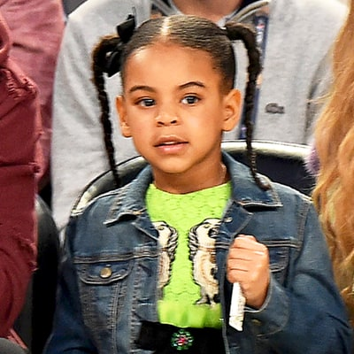 Blue Ivy Wore a $1.8K Gucci Dress to the NBA All-Star Game With Beyonce and Jay Z Because She's the Coolest 5-Year-Old Ever