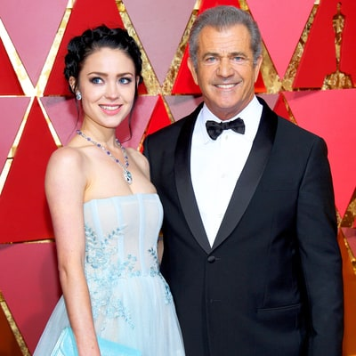 Mel Gibson's Girlfriend Rosalind Ross Stuns at Oscars 2017 Five Weeks After Giving Birth
