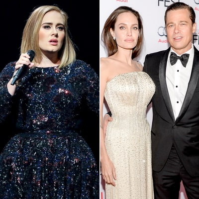 Adele Actually Doesn't 'Give a F--king S--t' About Brangelina Split