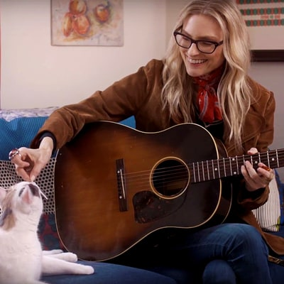 Watch Aimee Mann's Anguished 'Goose Snow Cone' Video