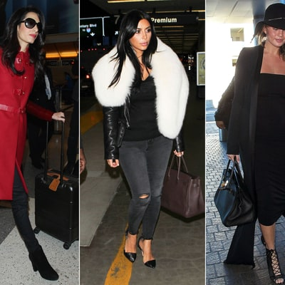 Celeb Airport Style: From the Messy to the Dressy