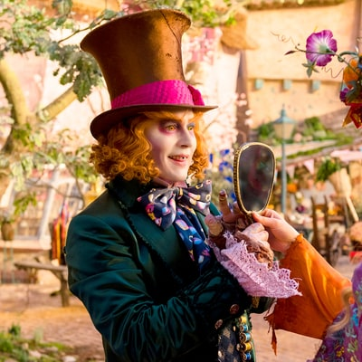 Johnny Depp's 'Alice Through the Looking Glass' Plummeting 65 Percent From First Film's Opening Amid Abuse Allegations
