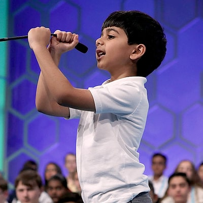 Scripp's National Spelling Bee's Youngest Contestant Akash Vukoti Was Too C-U-T-E: See Him in Action