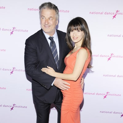 Alec Baldwin Shows Off Pregnant Wife Hilaria's Baby Bump at an NYC Gala