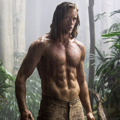Alexander Skarsgard's Super Sculpted Abs Are on Full Display Again in Legend of Tarzan Trailer