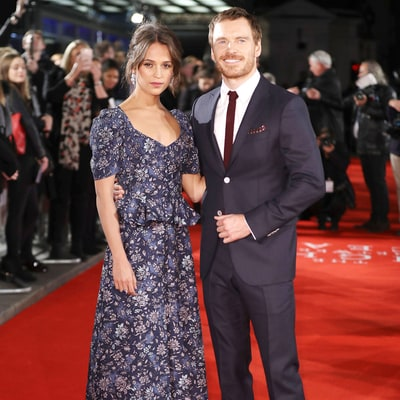 Alicia Vikander and Michael Fassbender Are the Definition of Stunning on the Red Carpet