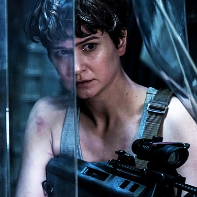'Alien: Covenant': Katherine Waterston on Becoming a Next-Gen Action Hero