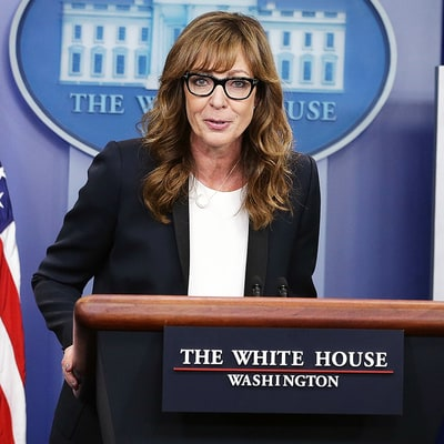 West Wing's Allison Janney Returns to White House as CJ Cregg in Official Press Briefing: Watch Here
