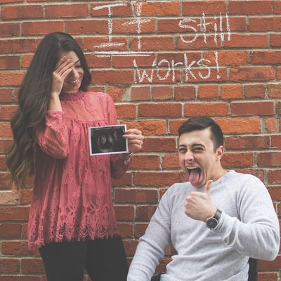 Paraplegic Man, Fiancee Announce Pregnancy With Funny Viral Photo: 'It Still Works!'