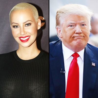 Amber Rose on Donald Trump's 'Locker Room Talk': 'I Want Him to Get in Trouble for It'