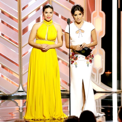 MTV Australia Apologizes for 'Racist' Tweet About America Ferrera, Eva Longoria During Golden Globes 2016