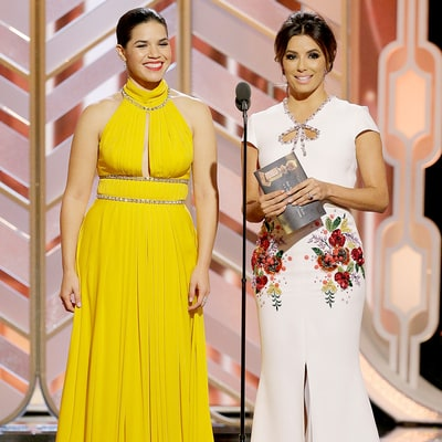 America Ferrera, Eva Longoria's Golden Globes 2016 Joke About Latina Actresses Was Perfect, Says Gina Rodriguez