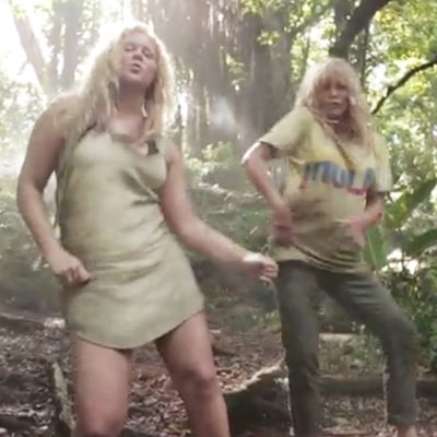 Amy Schumer, Goldie Hawn Parody Beyonce's 'Formation' While on Set in Hawaii -- Watch the Funny Video