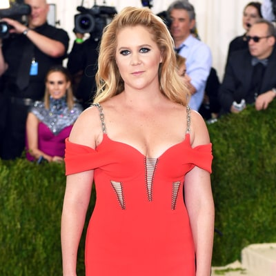 Amy Schumer Is All of Us Avoiding Thigh Chafing at the Met Gala 2016