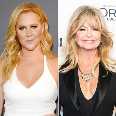 Amy Schumer's Dad FaceTimes With Goldie Hawn: 'You're the Love of My Life'