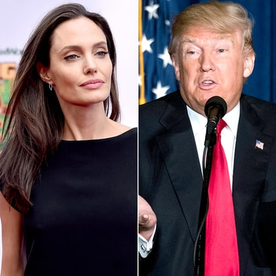 Angelina Jolie Slams Donald Trump for Anti-Muslim Refugee Comments