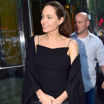 Angelina Jolie Is in Los Angeles With the Kids Amid Brad Pitt Divorce Battle