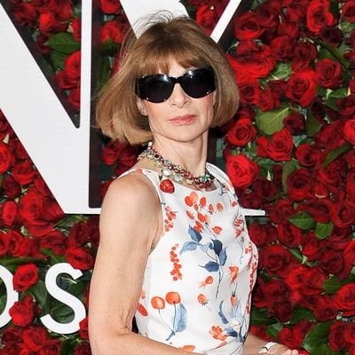 Anna Wintour Doesn't Take Her Signature Shades Off for Anything, Including the Tonys