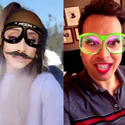 Ariana Grande, Jimmy Fallon Lip-Synch With Hilarious Snapchat Filters!