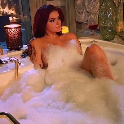 Newly Single Ariel Winter Slips Into Bathtub While Wearing 'Lady Bit Pasties'