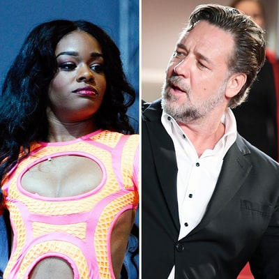 Azealia Speaks Out About Russell Crowe Altercation: 'I've Got Youth and Beauty, He's Got Beer Belly and Jowls'
