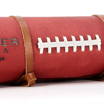The Humvee of Yoga Mats Is $1,000 and Made of Football Leather