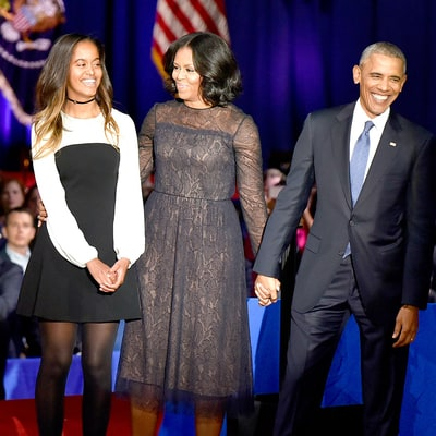 President Barack Obama Delivers Farewell Speech: Where Was Daughter Sasha?