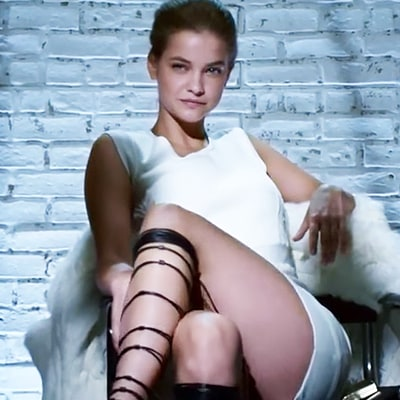 Barbara Palvin Re-Creates Sharon Stone's NSFW Moment in 'Basic Instinct': Watch!