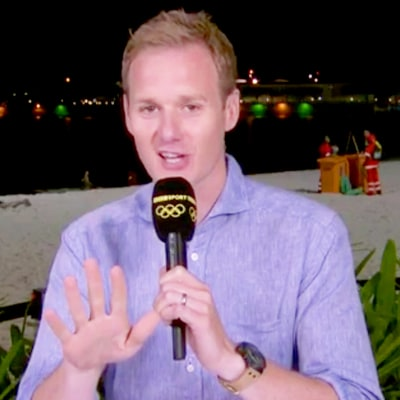 This BBC Reporter Had the Best Explanation for an Amorous Couple on His Broadcast in Rio