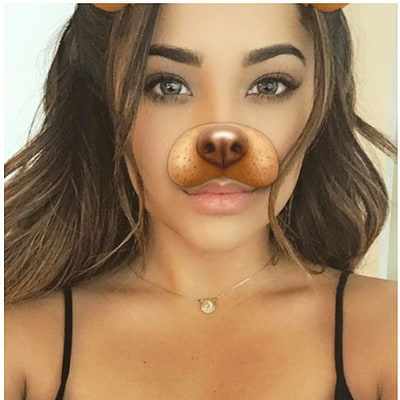Celebs Like Jessica Alba and Ariana Grande Are Obsessed With the Puppy Dog Snapchat Filter
