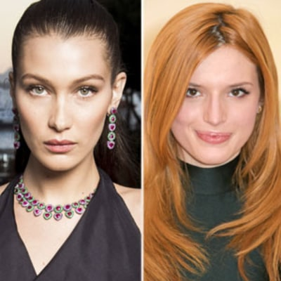 Bella Thorne and Bella Hadid Debut Pink Hair Within Days of Each Other