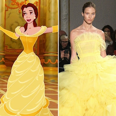 14 Dresses From Paris Haute Couture Fashion Week 2017 and the Disney Characters Who Should Be Wearing Them