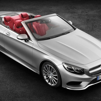 Summer's Best Convertible: Mercedes-Benz S-Class S550 Cabriolet