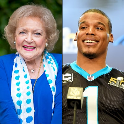 Betty White Jokes That She Taught Cam Newton How to Dab: See It