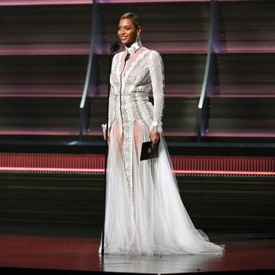 Beyonce's Grammys 2016 Dress Was Actually a Wedding Gown