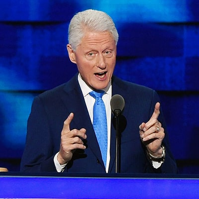 Bill Clinton Assumes First Gentleman Role During DNC Speech, Recalls Having to Propose to Hillary Clinton Three Times