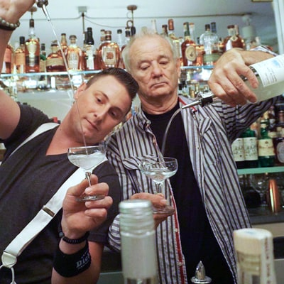 Bill Murray Bartends at Son Homer's Brooklyn Restaurant, Makes 'Sweet' Toast