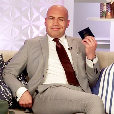 Billy Zane's Passport Reveals He's an International Man of Mystery: What's in His Wallet?