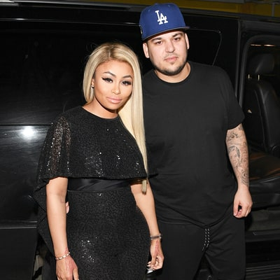 Rob Kardashian Reveals His Weight, Enlists Fiancee Blac Chyna as His Trainer